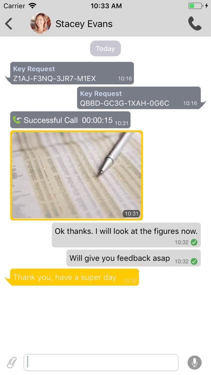 MTN Secure Chat screenshot-3
