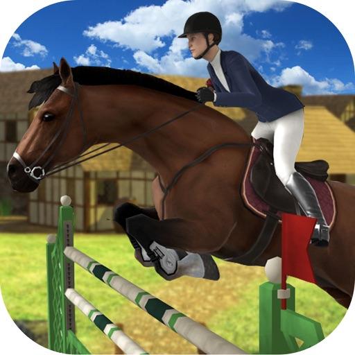 3D-симулятор прыжковой лошади