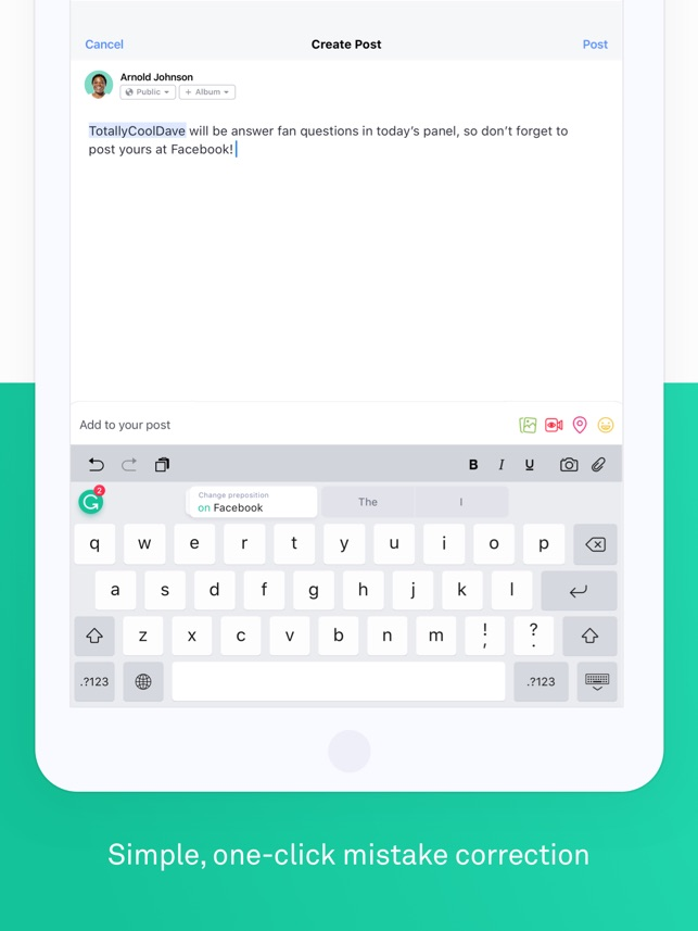 Grammarly Keyboard on the App Store