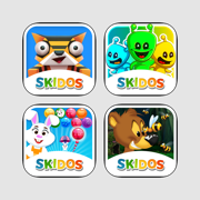 SKIDOS Girl's favorite games. For age 5,6,7,8,9,10 year old.Grade 1st,2nd,3rd,4th,5th