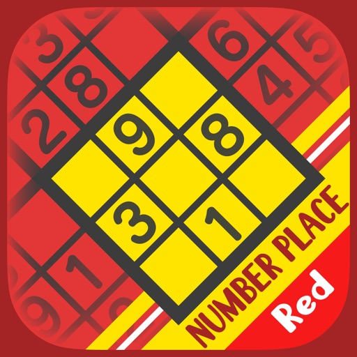 Basic NumberPlace Red