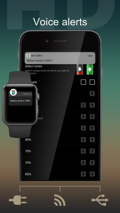 Screenshot for Battery HD+ Pro in Sri Lanka App Store