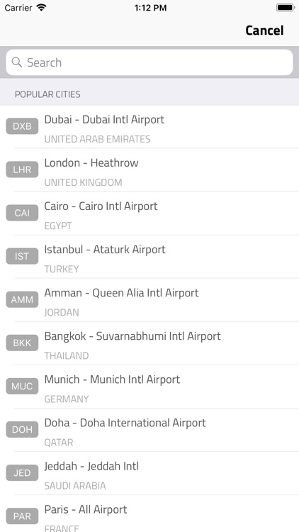 FlyBooking screenshot-3