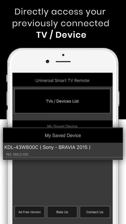 TV Remote Control - MaticsMote screenshot-4