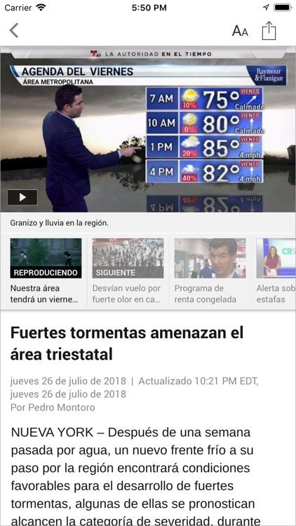 Telemundo 47 screenshot-3