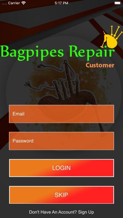 Bagpipes Repair Customer