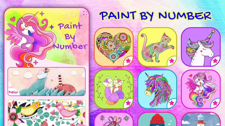 Paint-by-Number