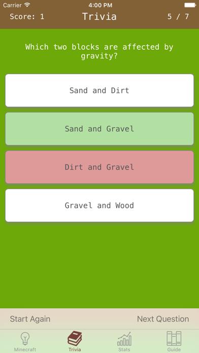 MineTrivia: Craft Quiz & Guide by Flamethrower (iOS, United