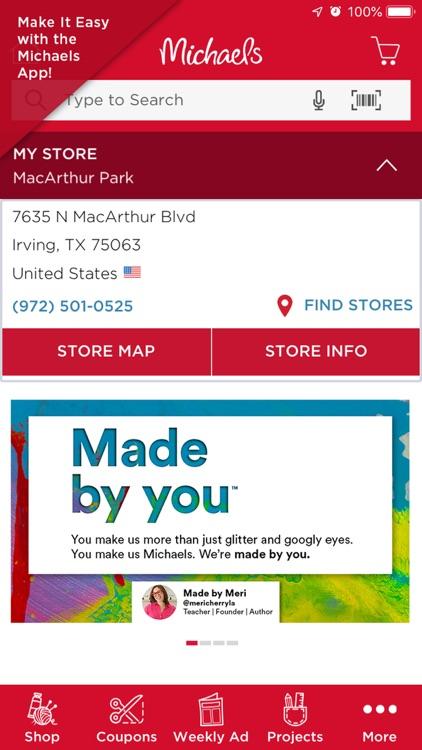 Michaels Stores screenshot-0