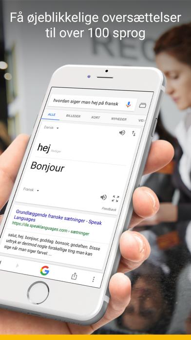 Screenshot for Google in Denmark App Store