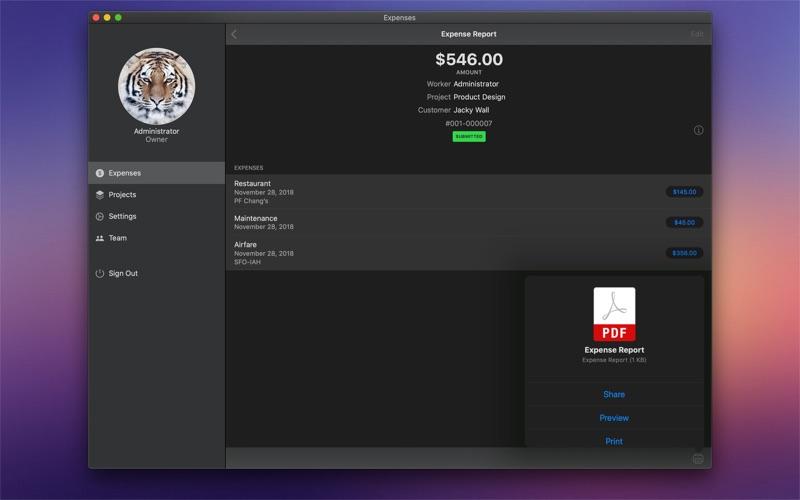 商業費用 for Mac