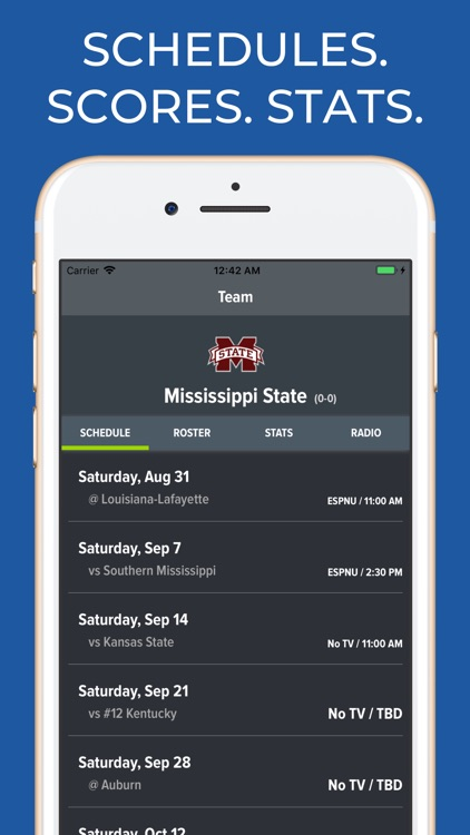 Mississippi State Football App