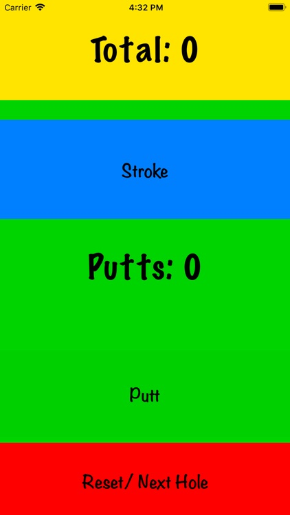 My Simple Golf Score screenshot-0