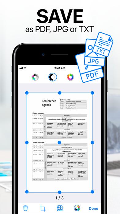 Scanner App: PDF Document Scan Screenshot on iOS