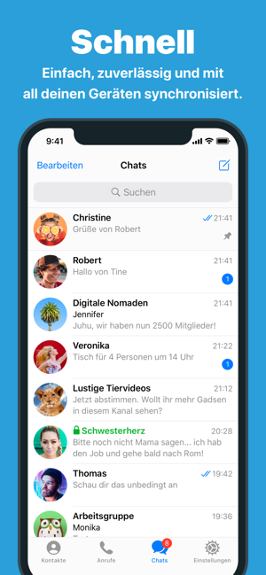 ?Telegram Messenger Screenshot