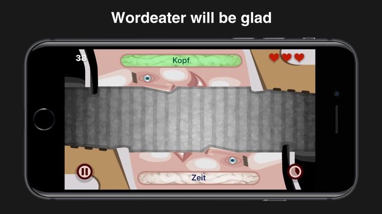 Wordeaters: German & French screenshot-3