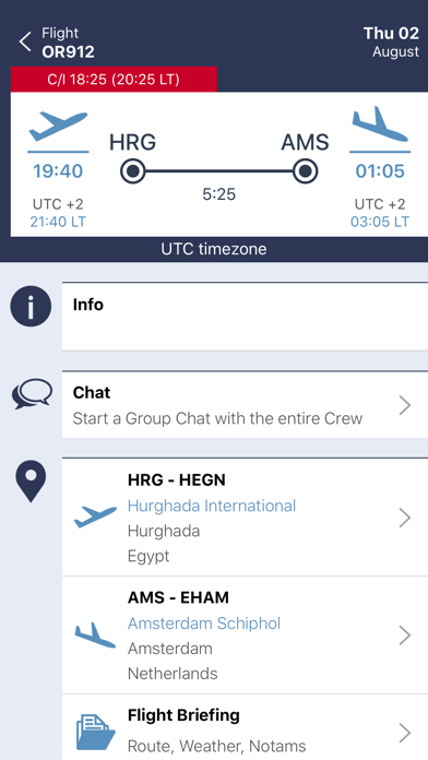 CONNECT - CrewLounge for Windows
