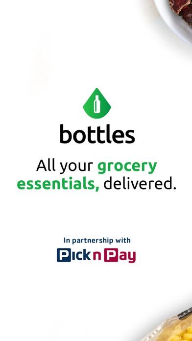 Bottles: Groceries, Delivered screenshot one