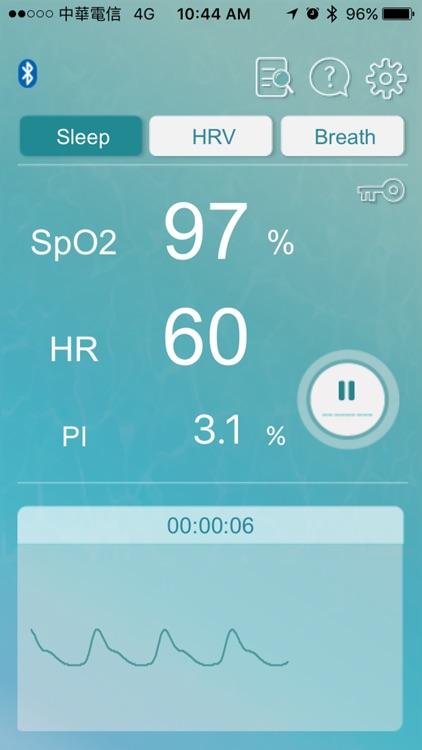 O2 Care - SpO2 HRV Biofeedback