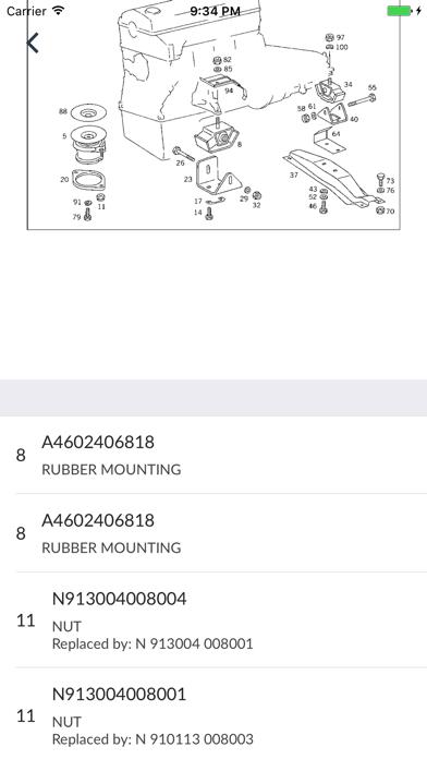 Mercedes-Benz Car Parts iphone ekran görüntüleri