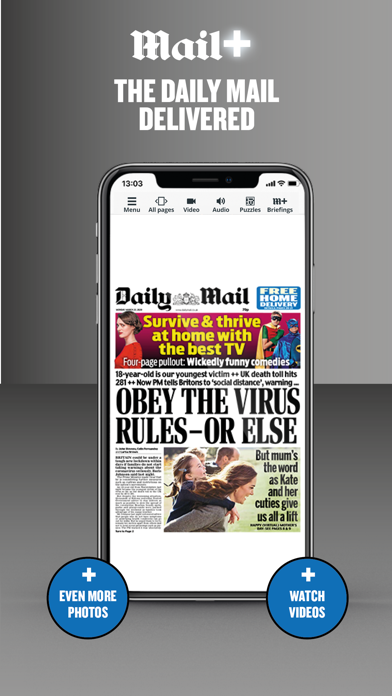 Mail Plus - Daily Mail Screenshot