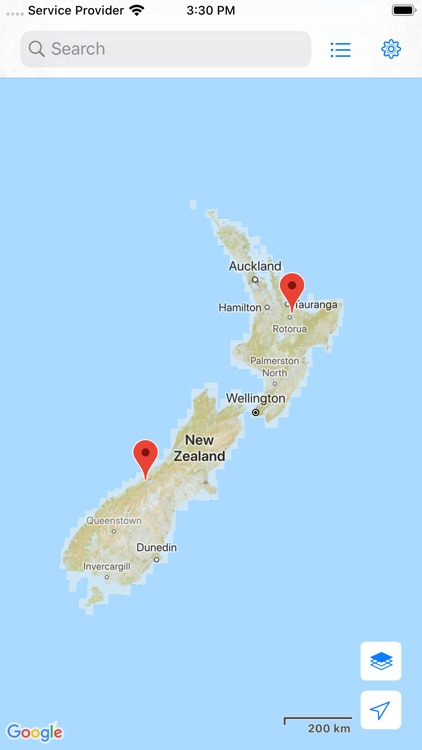 NZ Topo Map