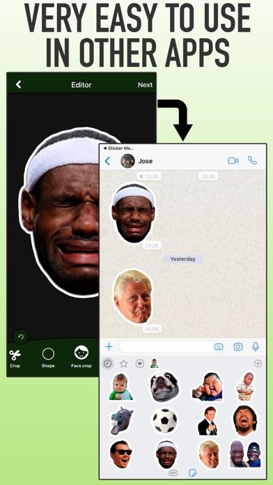 Stickers Maker WhatsAp screenshot 3