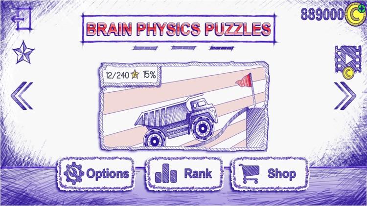 Draw physics lines:Brain it on