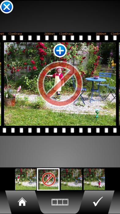 ClonErase Camera Screenshots