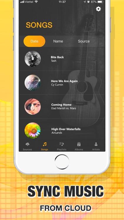 Music apps : Offline Music screenshot-3