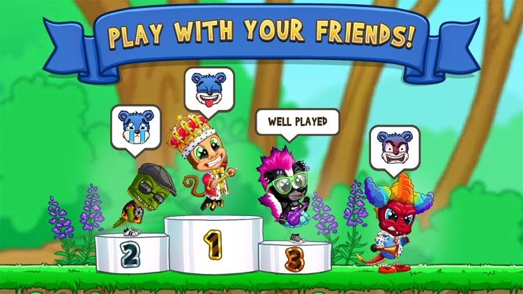 Fun Run 3 - Multiplayer Games screenshot-3