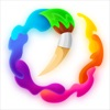 Color by Number Oil Painting App Icon