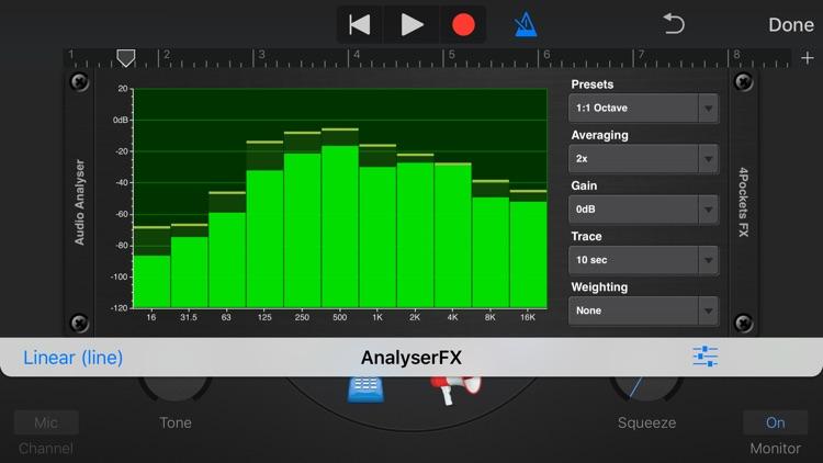 Analyser & Tuner AUv3 Plugin screenshot-3