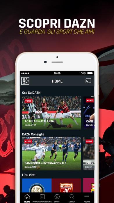 Download DAZN: Diretta Calcio e Sport per Pc