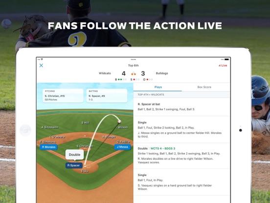GameChanger Scorekeeping, Stats and Live Updates for Baseball, Softball, and Basketball screenshot