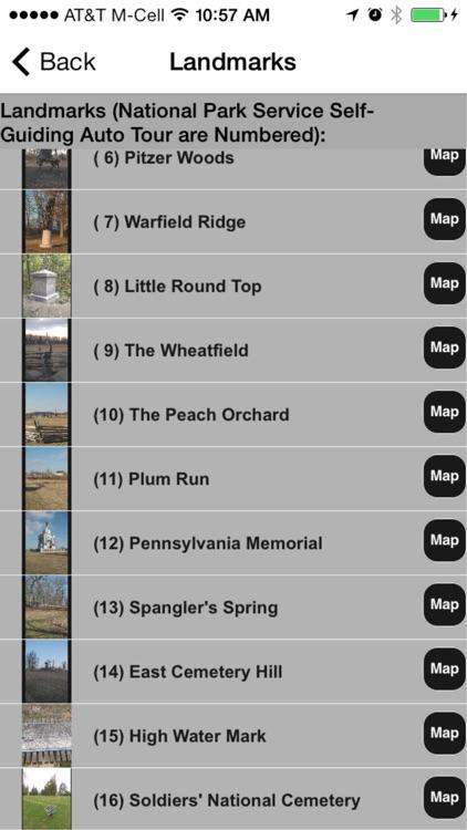 Gettysburg Concordance screenshot-3