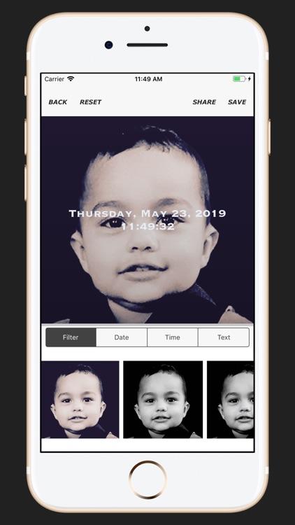 Timestamp on Memory Photos PRO screenshot-4