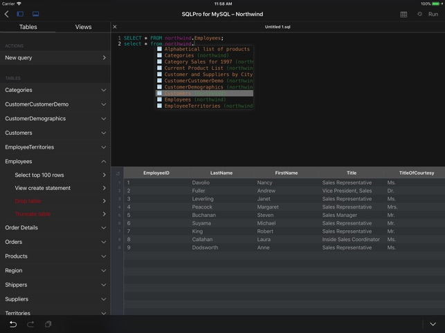 MySQL Client by SQLPro on the App Store