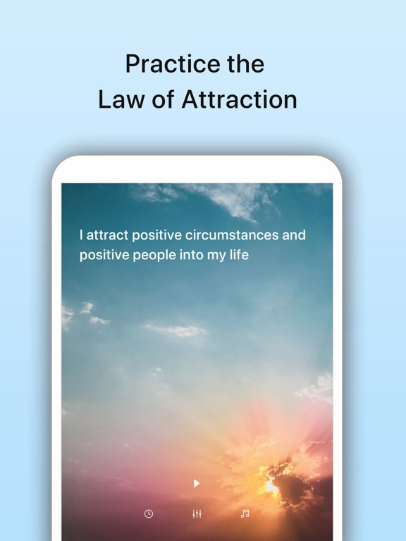 Subliminal Work - Positive Thinking Affirmations for Stress Relief & Subconscious Mind Training screenshot