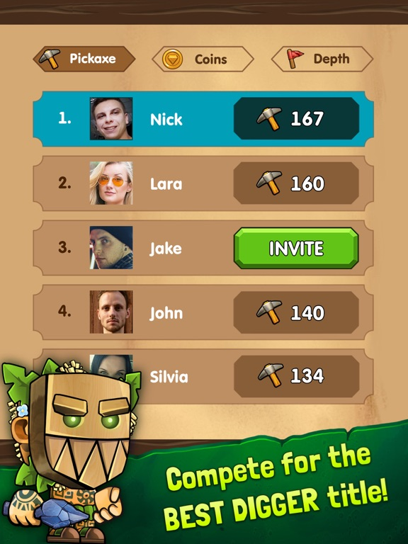 Dig Out!: Gold Miner Adventure screenshot 11