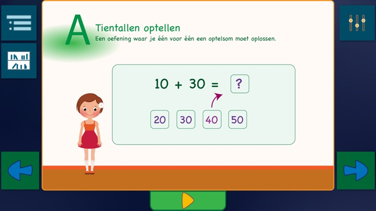 Optellen tot 100 screenshot-2