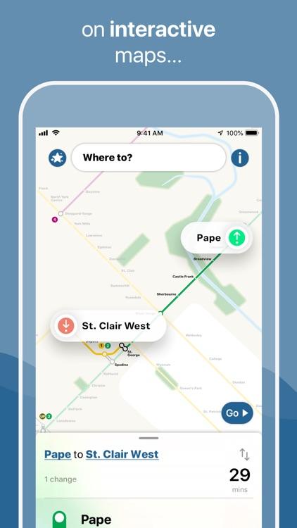 Toronto Subway Map