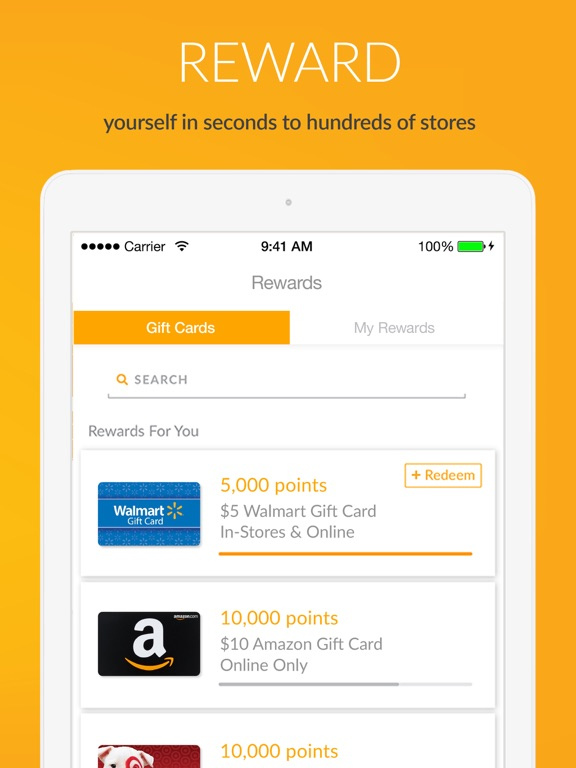 iPad Image of Fetch Rewards: Earn Gift Cards