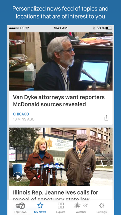 ABC7 Chicago News by ABC Digital (iOS, United States