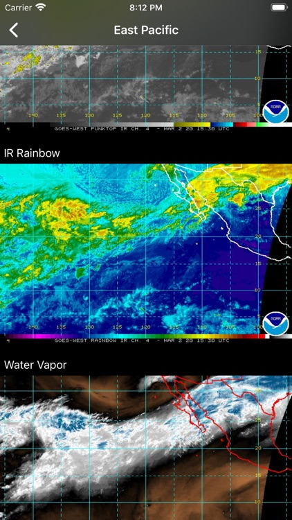 NOAA Hurricane Center screenshot-8