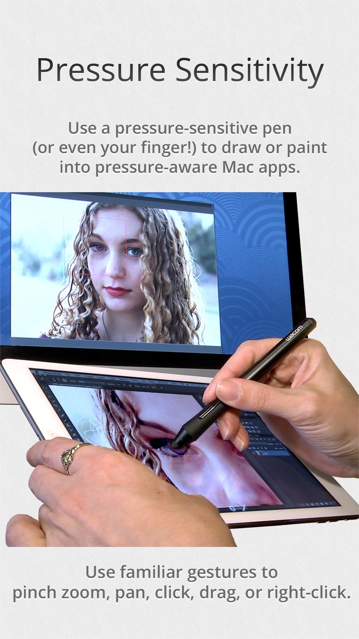 Screenshot do app Air Display