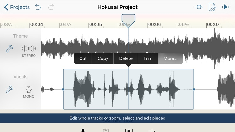 Hokusai Audio Editor screenshot-1