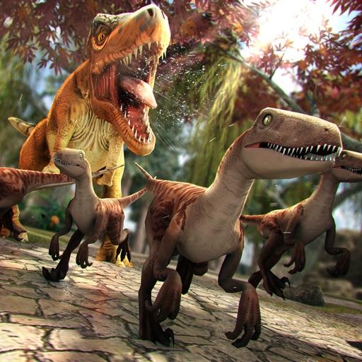 юрский дино симулятор . динозавры гонки бесплатно