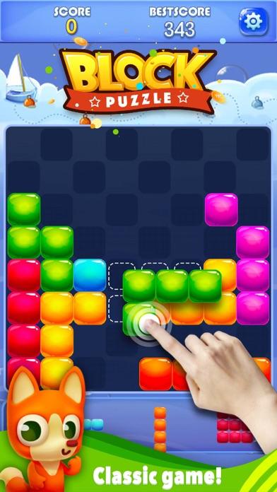 Screenshot of Candy Block Puzzle Blitz3
