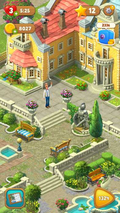 Screenshot for Gardenscapes in Mexico App Store